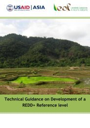 Technical Guidance on Development of a REDD+ ... - The REDD Desk