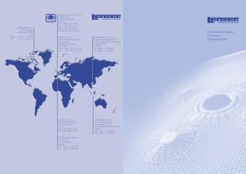 Produktinformation Membran- Filterelemente - Lenser Filtration ...