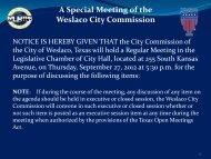 1. Agenda, Sept. 27, 2012 - City of Weslaco