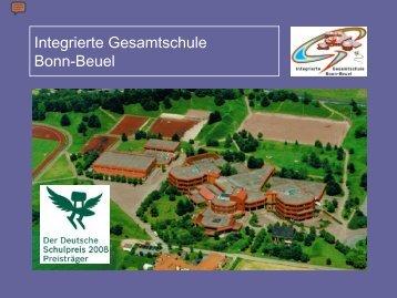 Dirk Prinz, Gesamtschule Bonn-Beuel - GEW