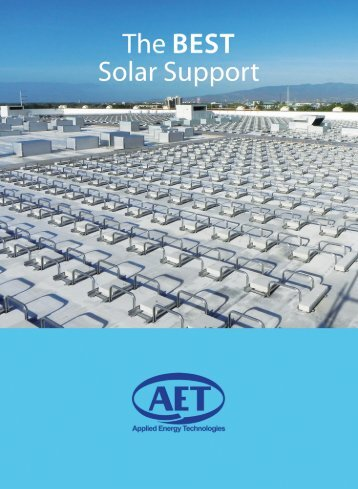 AET Solar Mounting Solutions (PDF)