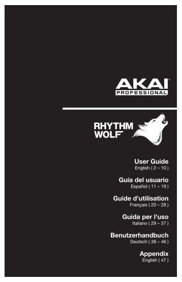 Rhythm Wolf - User Guide - v1.3