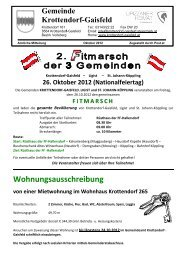 Amtliche Mitteilung Oktober 2012 - Gemeinde Krottendorf-Gaisfeld