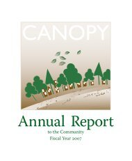 Annual Report 2007 - Canopy