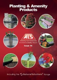 tree and shrub planting - Pitchcare