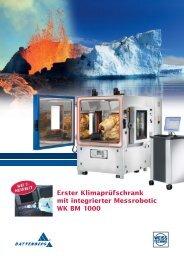 WK BM 1000 - Battenberg ROBOTIC GmbH & Co. KG