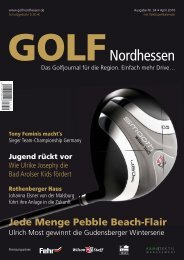 TOPstories - Golf Nordhessen