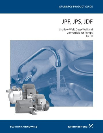 JPF JPS Jet Pumps - Burdick & Burdick