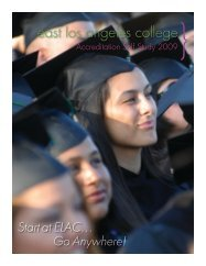 Introduction - East Los Angeles College