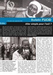 Bulletin juillet 09 - fucid