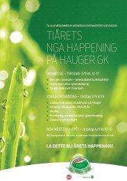Program og invitasjon - NGA