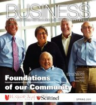 Foundations of our Community - West Coast Chamber of Commerce