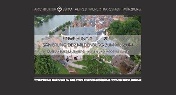 Broschüre (pdf) - Architekturbüro Alfred Wiener