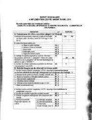 Raport activitate Legea 544/2001 pentru anul 2010 - ansvsa