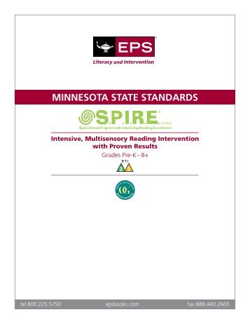Minnesota - School Specialty—Literacy and Intervention
