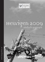 Heurigen 2009 - Ursin Haus