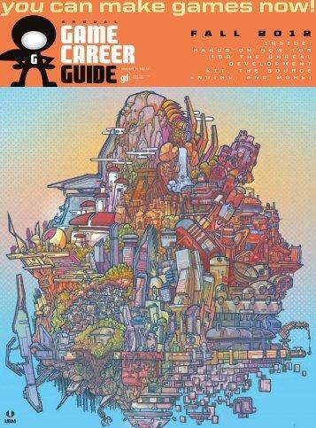 Fall 2012: Annual Game Career Guide