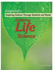 Exploring Life Science - Attainment Company