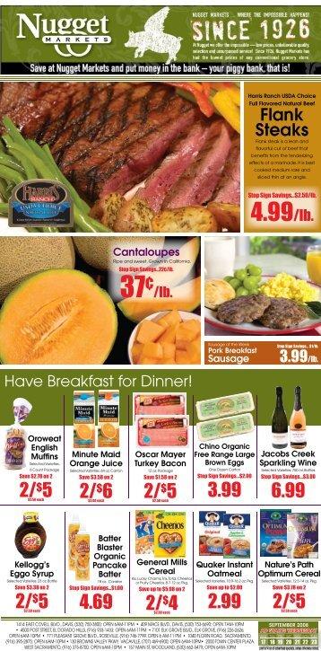 Flank Steaks - Nugget Market