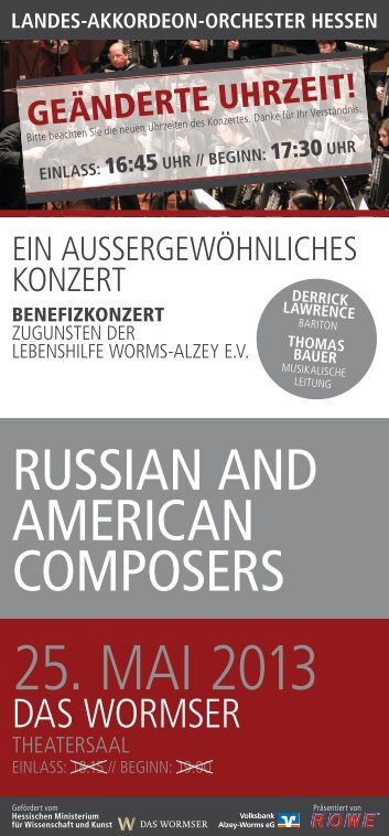 25. MAI 2013 - Landes-Akkordeon-Orchester Hessen