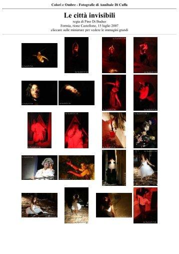 Le città invisibili - Teatro Potlach