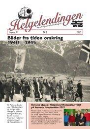 Helgelendingen nr 3 2012 - Helgeland Historielag