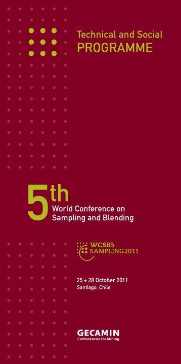Download this publication as PDF - SAMPLING 2011