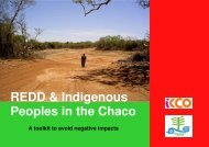 REDD & Indigenous Peoples in the Chaco - Global Forest Coalition