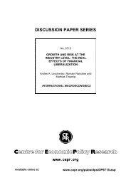 CEPR Discussion Paper 6715 - Andrei Levchenko