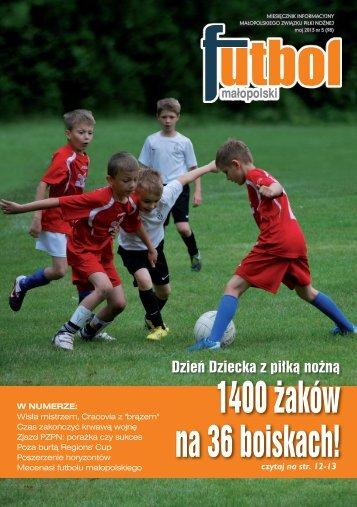 1400 żaków na 36 boiskach! - Małopolski Związek Piłki Nożnej