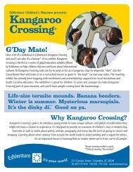 Kangaroo Crossing® - EdVenture Children's Museum