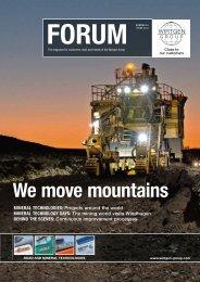 We move mountains - Wirtgen Norway