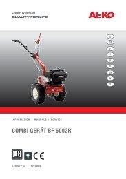 Combi Gerät bF 5002r - AL-KO Garten + Hobby