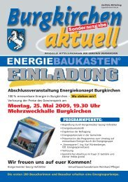 Sonderausgabe EBK 2009 (3,10 MB) - Burgkirchen