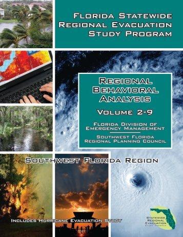 Volume 2: Regional Behavioral Analysis - Southwest Florida ...
