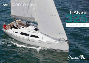 welcomeon board - Yachting Partners