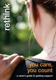 You Care, You Count: A carers' guide to getting support - Rethink