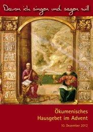Liturgieheft als pdf-Datei - Arbeitsgemeinschaft christlicher Kirchen ...