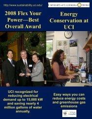Energy Conservation Flyer - Wellness