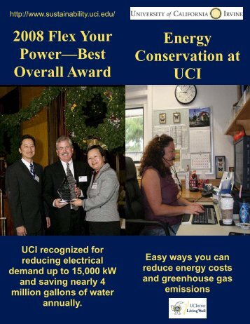 Energy Conservation Flyer - Wellness