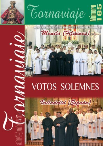 Descargar PDF - agustinos de la provincia del santisimo nombre de ...
