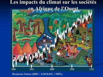 Les impacts du climat en Afrique de l'Ouest (pdf) - Locean