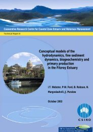 Conceptual models of the Fitzroy Estuary - OzCoasts