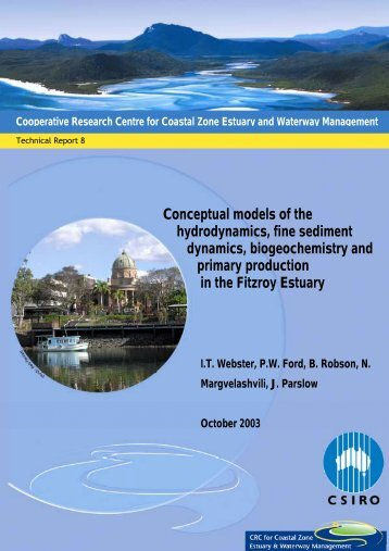 Conceptual models of the Fitzroy Estuary - OzCoasts