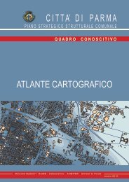 Atlante cartografico (.pdf) - Pianificazione Territoriale - Comune di ...