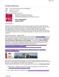 CIG Office Administrator Page 1 of 5 16/08/2010 FIG e-Newsletter ...