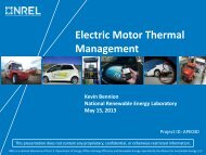 Electric Motor Thermal Management - Department of Energy - U.S. ...