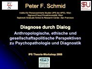 Diagnose durch Dialog - Peter F. Schmid