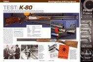 Bockdoppelflinte K-80 Trap Special TEST - Krieghoff