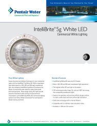 IntelliBrite® 5g White LED - The Pool and Spa House